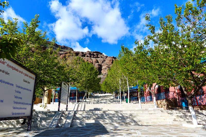 Ashabi-Kahf Pilgrimage religious cultural monument complex